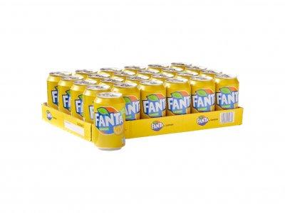 Tray Fanta Lemon