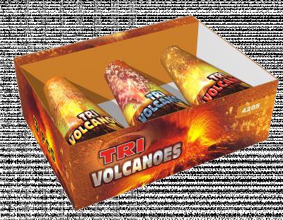 Tri Volcanoes