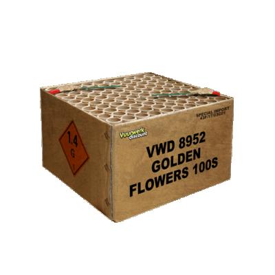 Golden Flowers 100's