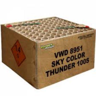 "Sky Color Thunder 100""s"