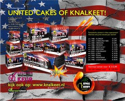 United cakes of Knalkeet