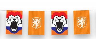 Vlaggenlijn Oranje Hollandse Leeuw - 10 meter