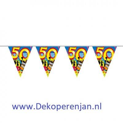 Vlaggenlijn Swirls 50 jaar