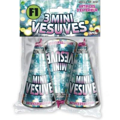 3 Mini Vesuves