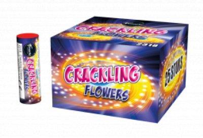 Crackling flowers