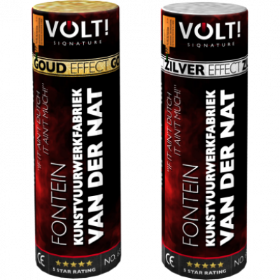 Van Der Nat Fontein Set Goud en Zilver