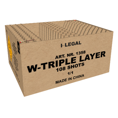 W-Triple Layer Box