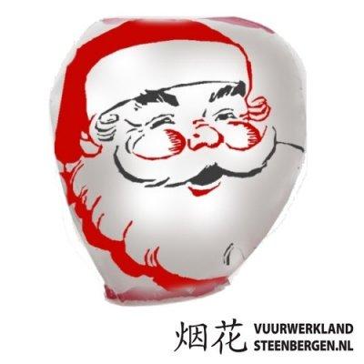 Wensballon Kerstman