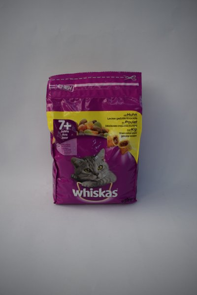 Whiskas brokjes senior kip