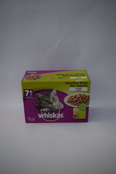 Whiskas senior mix in gelei