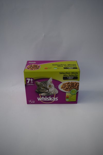 Whiskas senior mix in saus