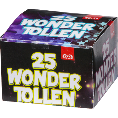 Wondertollen (grondbloemen) 25 st