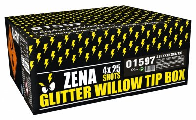 Glitter Willow Tip Box