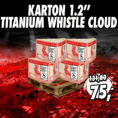 Karton 1.2'' Titanium Whistle Cloud