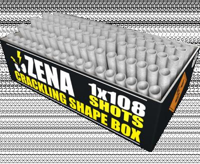 Zena crackling shape box