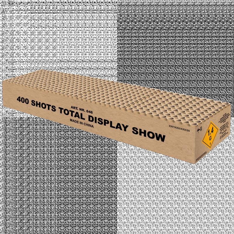 400 Shots Total Display Show