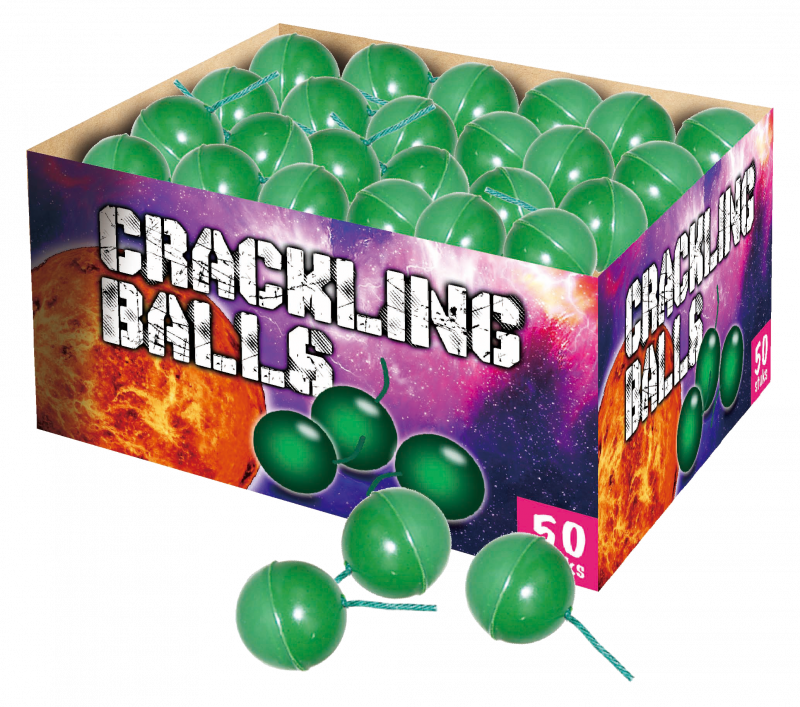 Crackling Balls