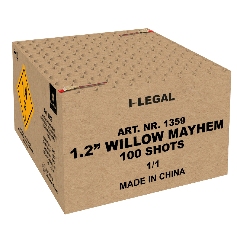 "1.2"" Willow Mayhem Box"