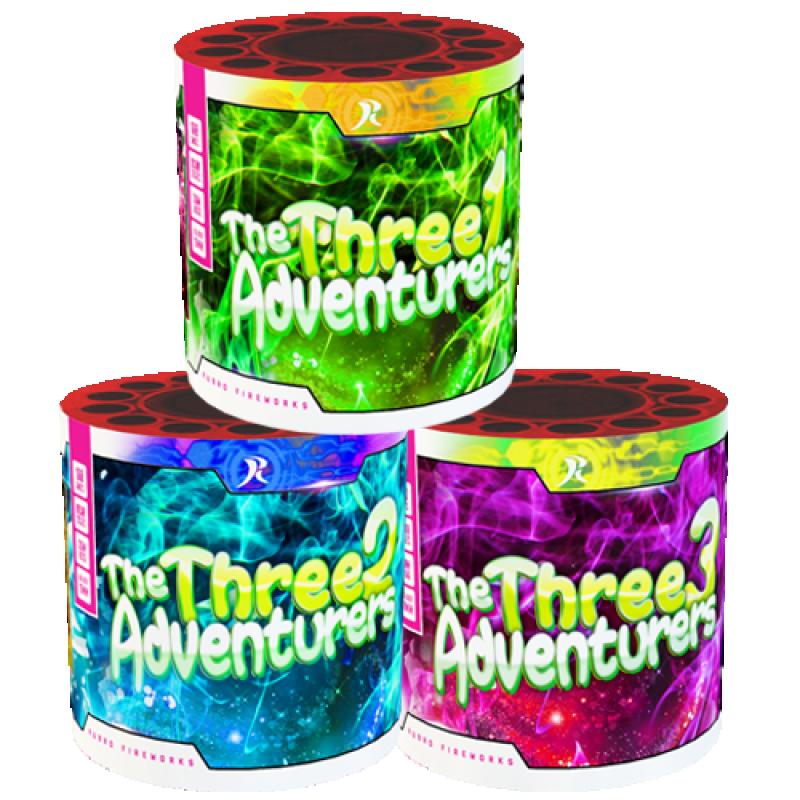 3 voor 2 - The Three Adventurers