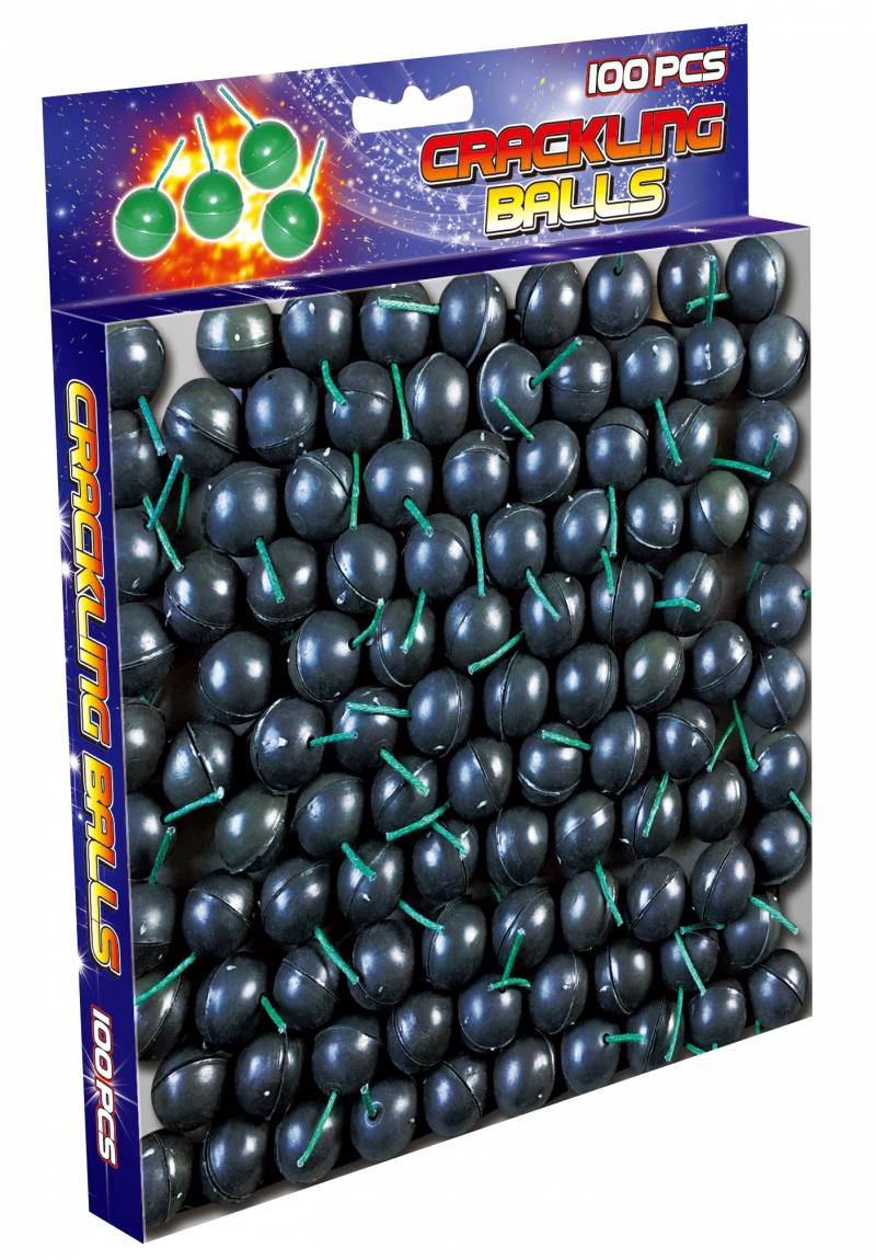 Crackling Balls 100st.