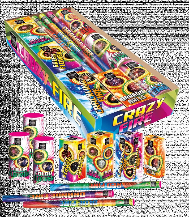 Crazy Fire Sierpakket | Cat-1
