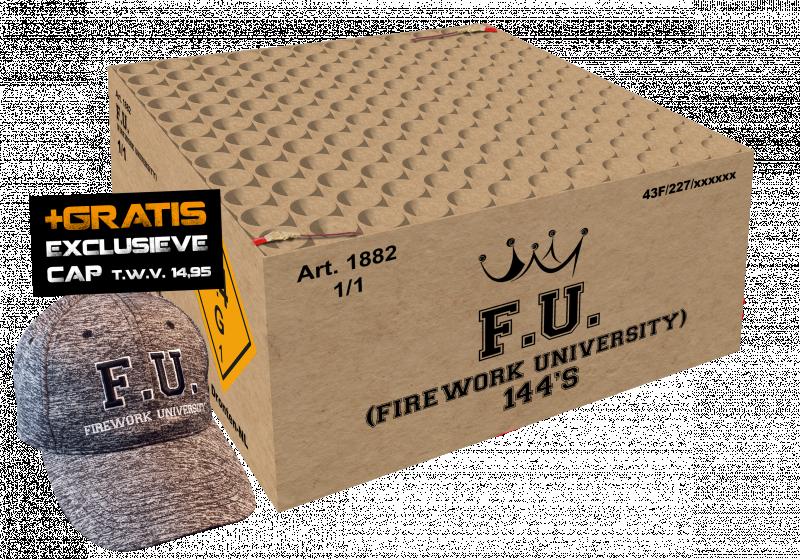 FU (Fireworks University) 144sh