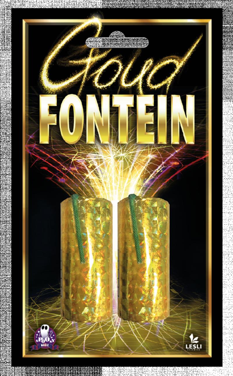 Goud fontein