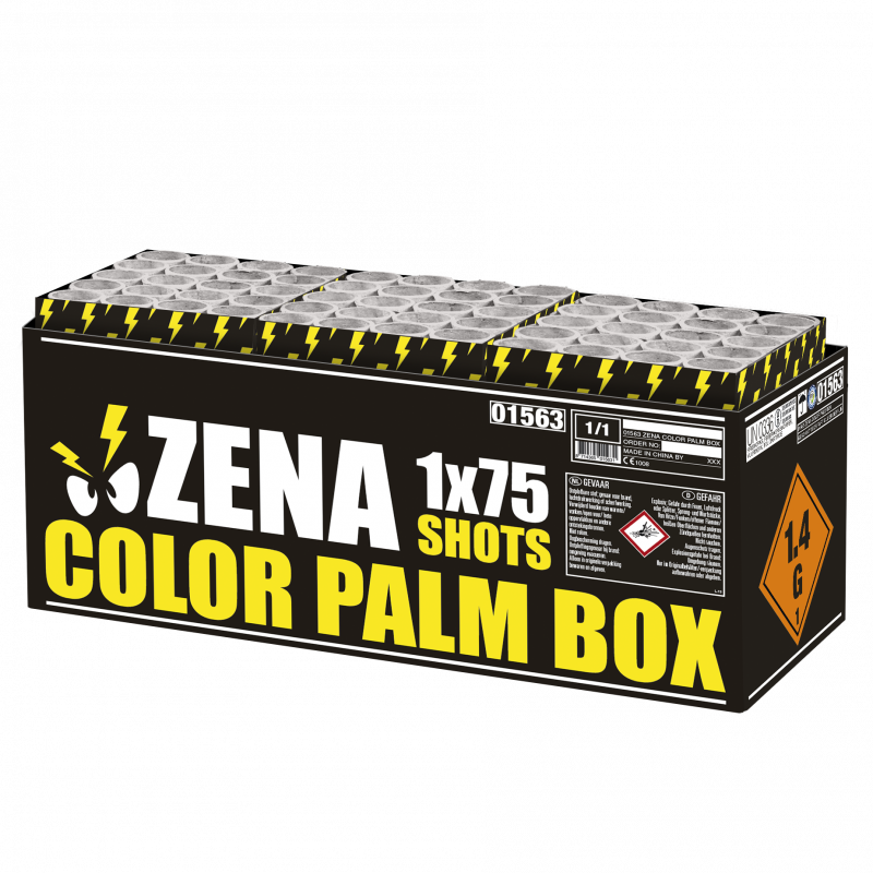 Zena color palm box*