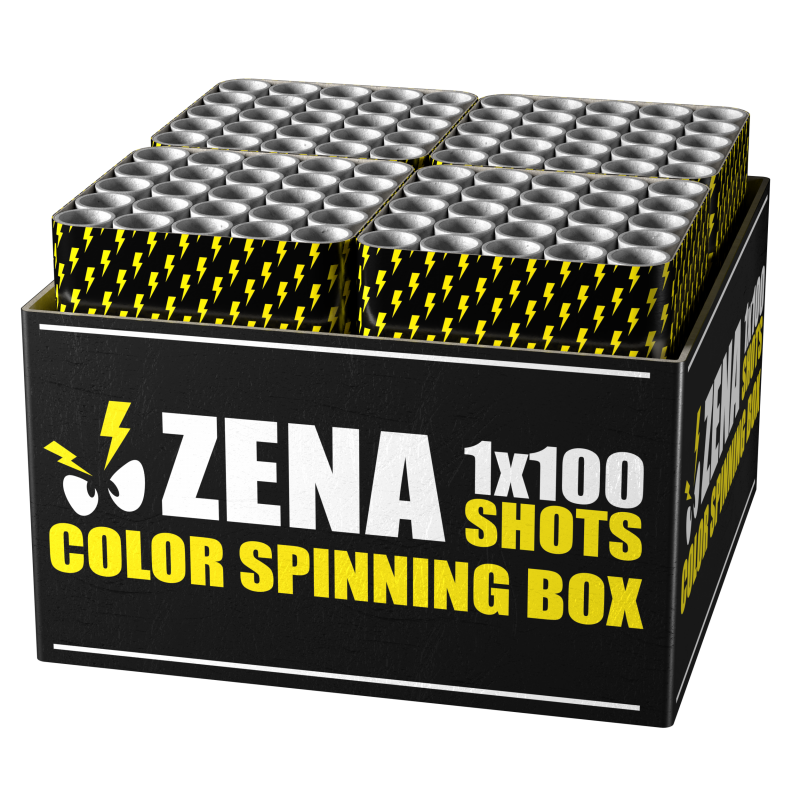ZENA COLOR SPINNING BOX