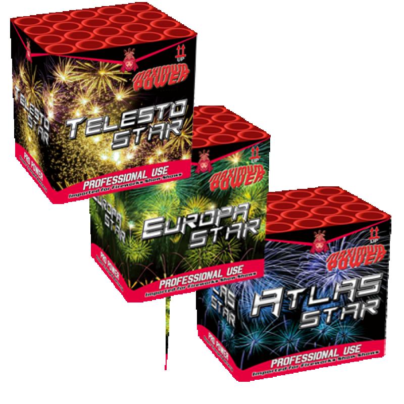 Mega 3 - Star Assorted