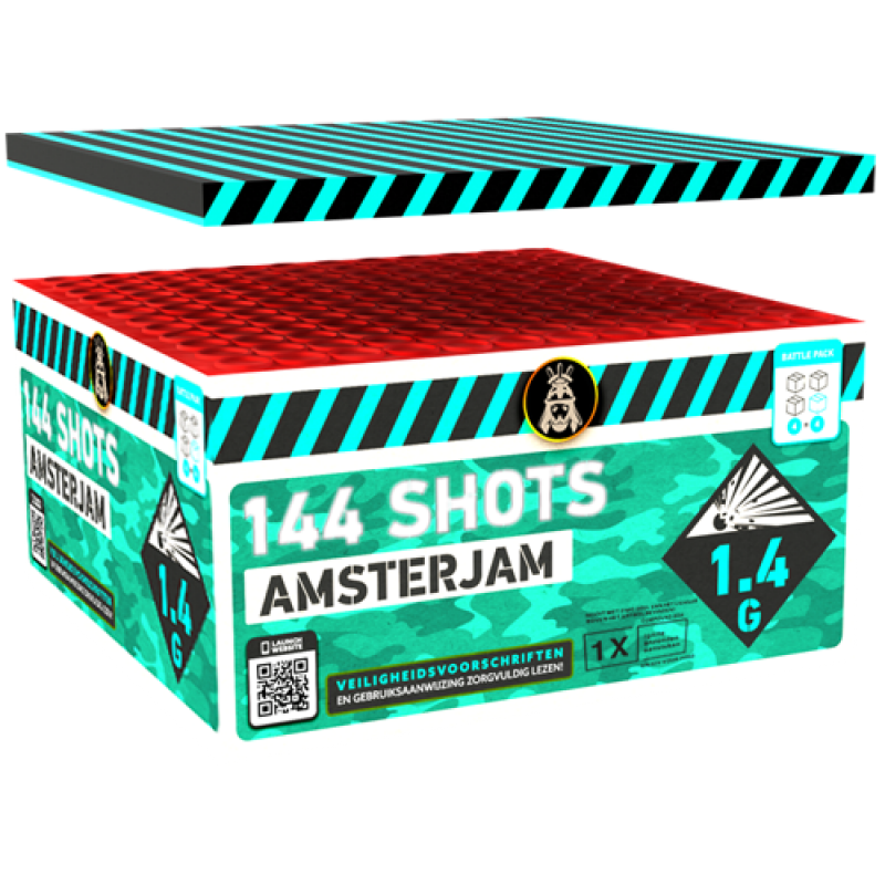 Amsterjam 144's Compound Box