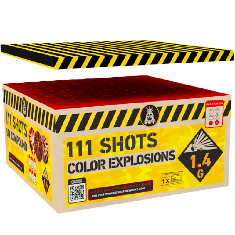 Colorful Explosions 111's Compound Box