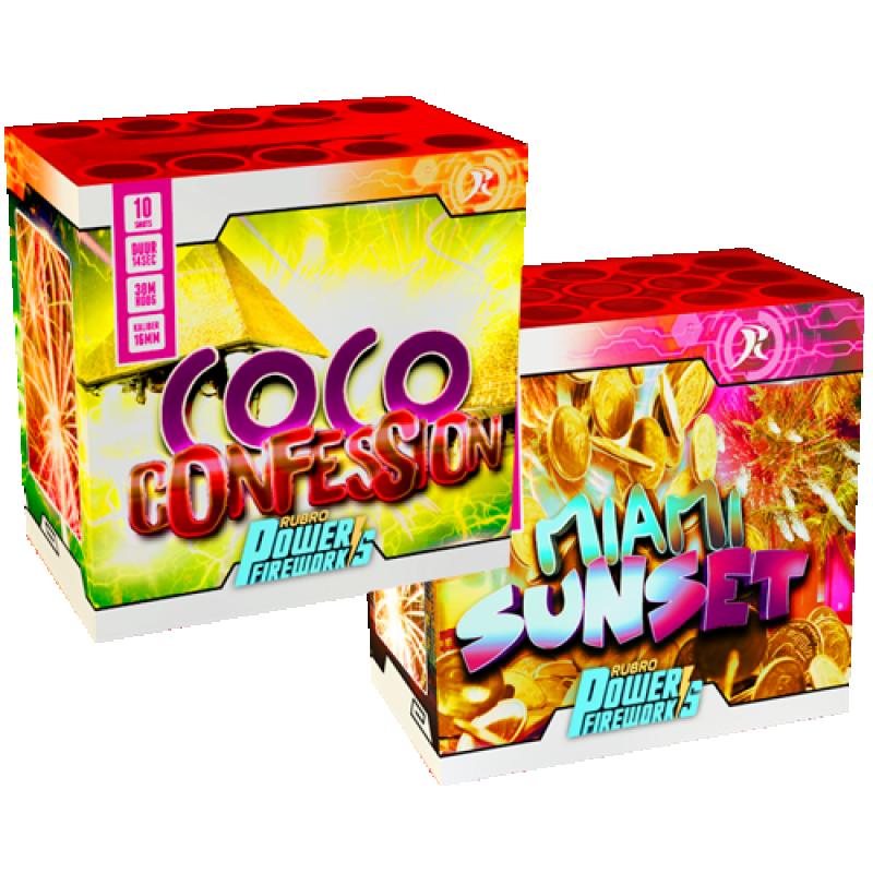 2 voor 1 - Miami Sunset & Coco Confession