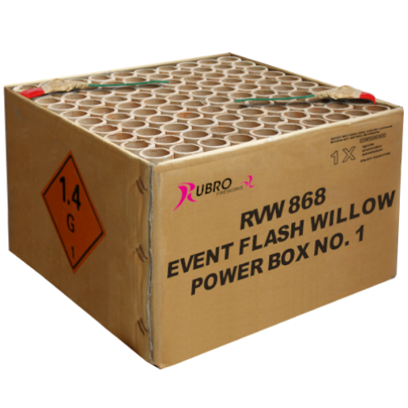 EVENT FLASH WILLOW POWER BOX NO.1-100's (COMPOUND) NEW