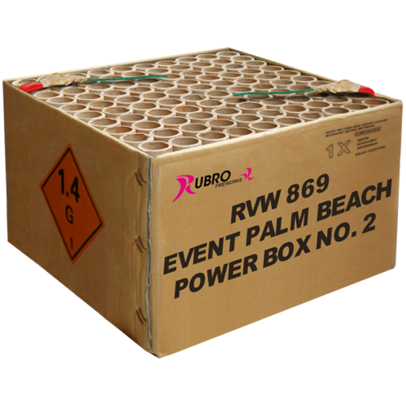 Event Palm Beach Power Box No. 2 - 100's (compound)