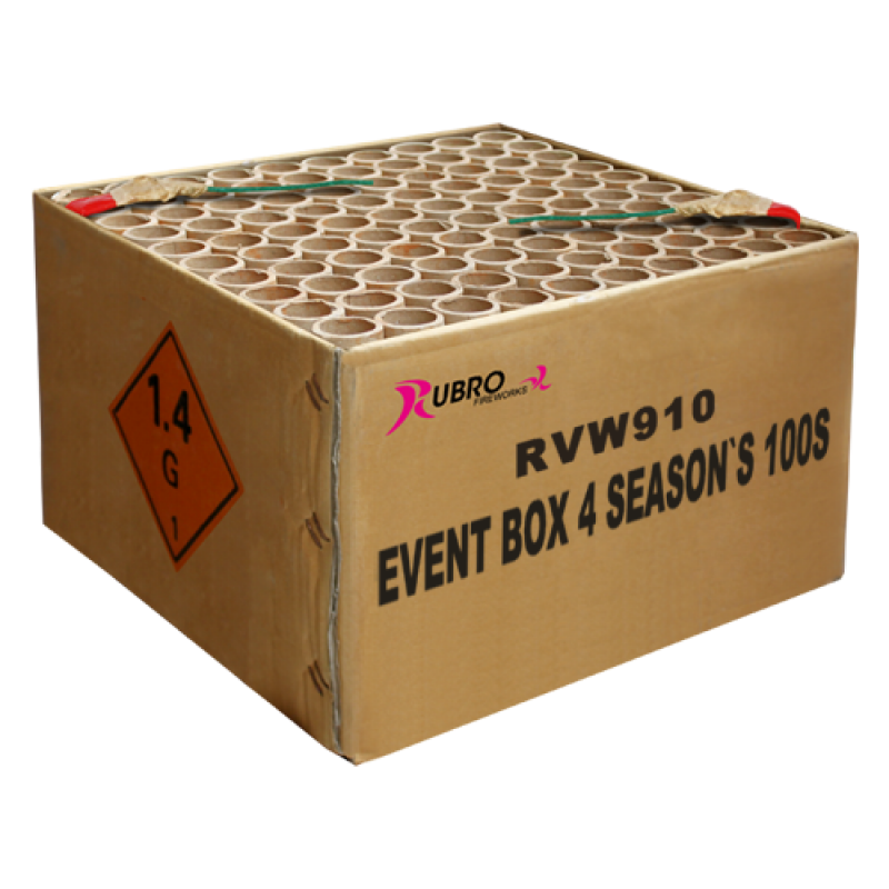 Event Box 4 Seasons 100's