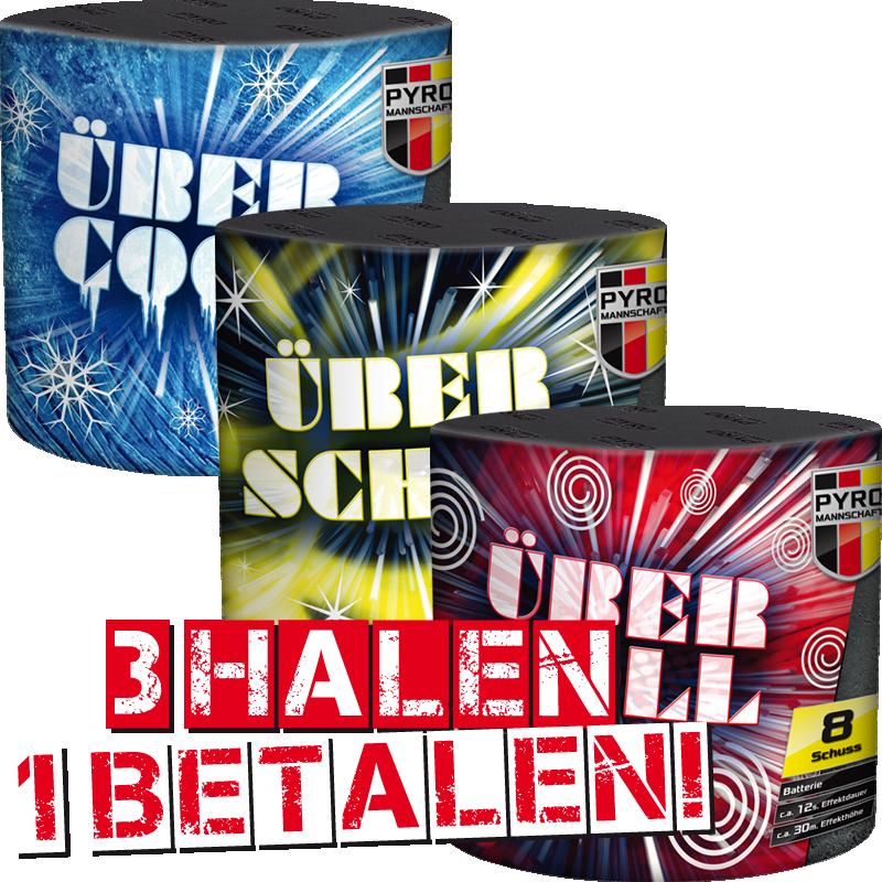 Ubercool, Uberschon, Ubertoll 3 = 1 *