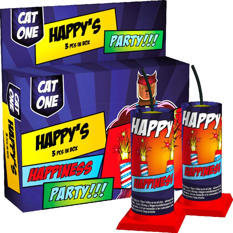 Cat One Happy's
