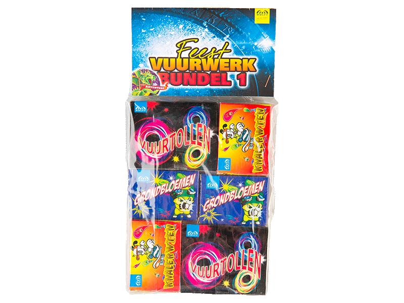 Feest vuurwerk bundel 1
