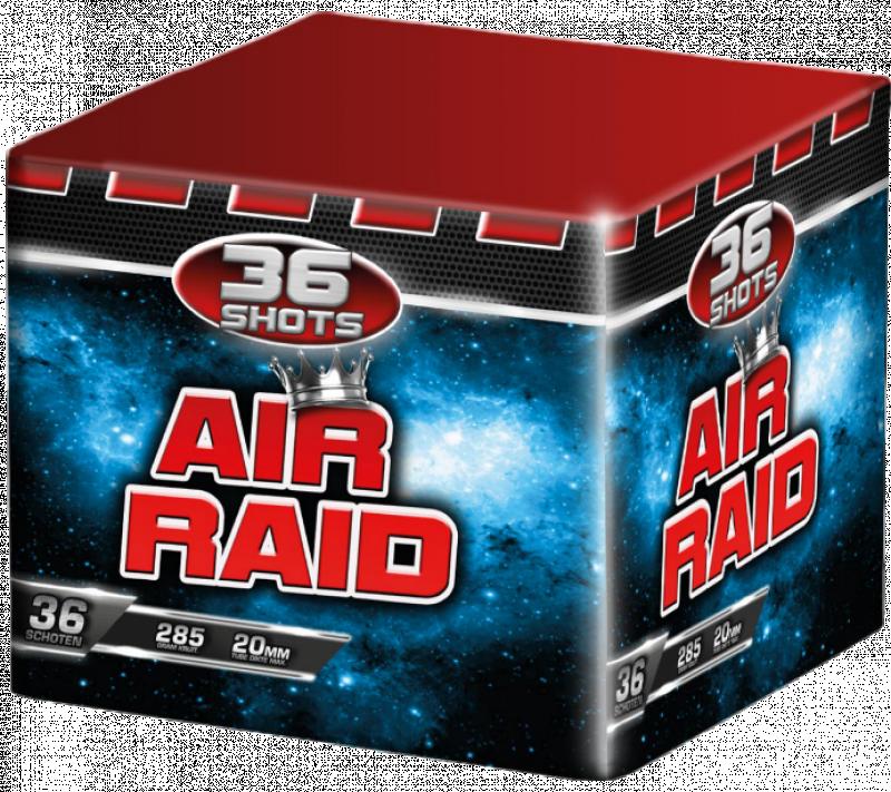Air Raid wolff vuurwerk