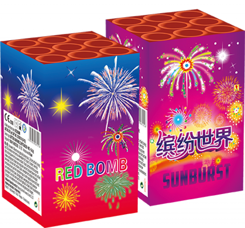 Red Bomb + Sunburst