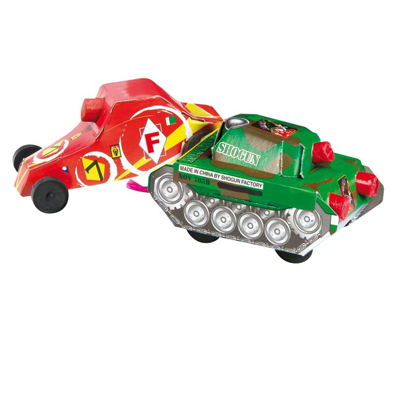 Quick & Slow Schildpad en Racewagen*_