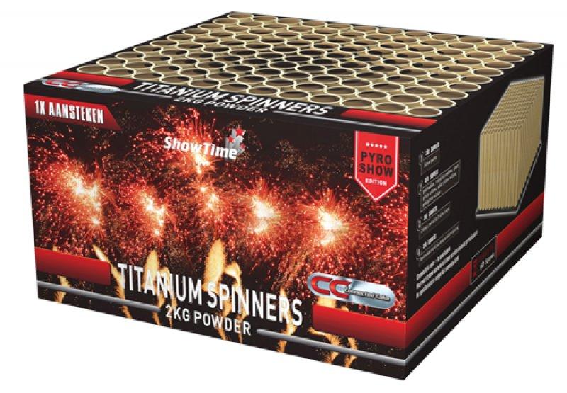 Titanium Spinners