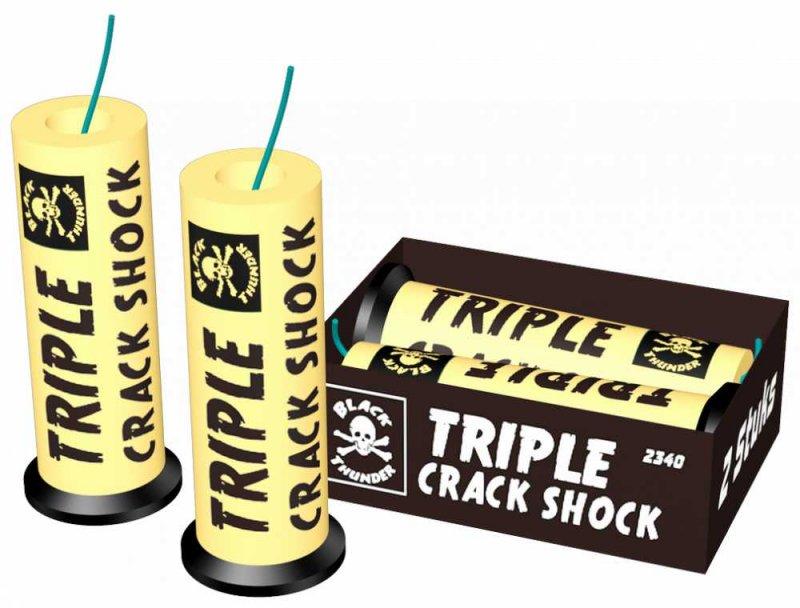 Triple crack shock