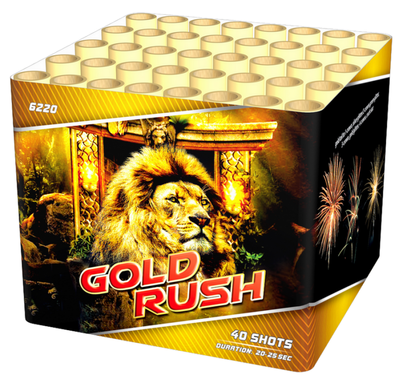 Gold Rush 40 shots