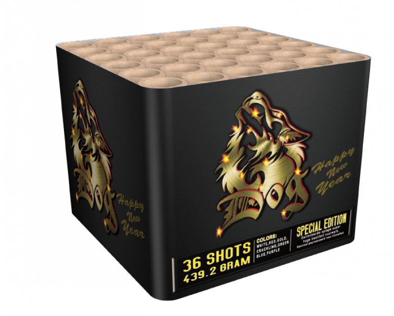 Art. 3893 Dog, 36 shots