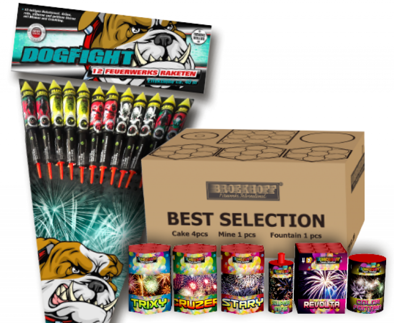 Best Selection + Dogfight combi-deal*