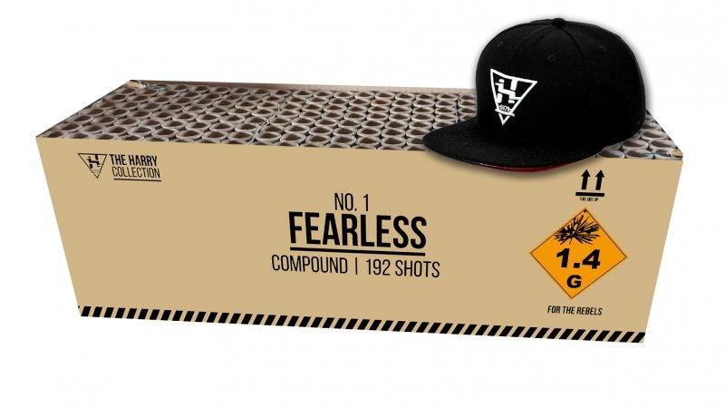 FEARLESS + GRATIS VUURWERKCAP