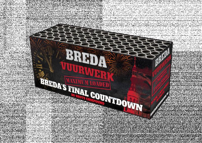 Bredavuurwerk - Breda's Final Countdown