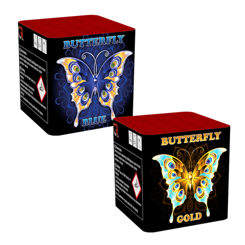 Butterfly Blue and Butterfly Gold**
